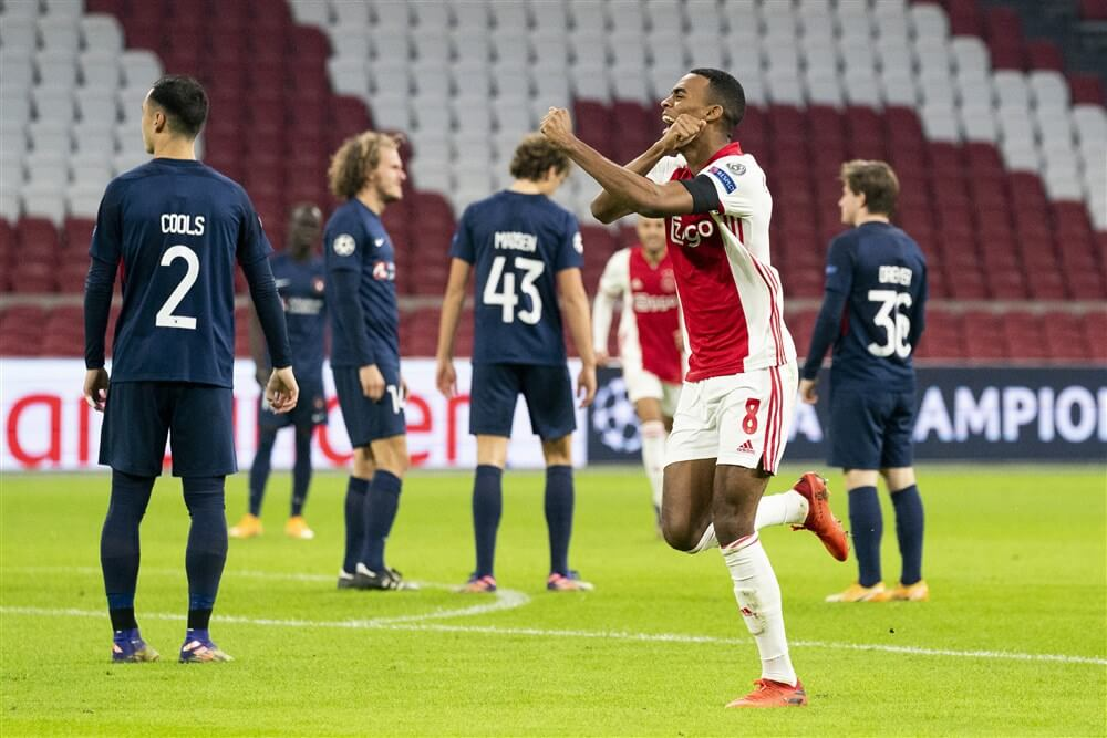 Prachtgoals brengen Ajax na de rust verdiende zege op Midtjylland: 3-1; image source: Pro Shots