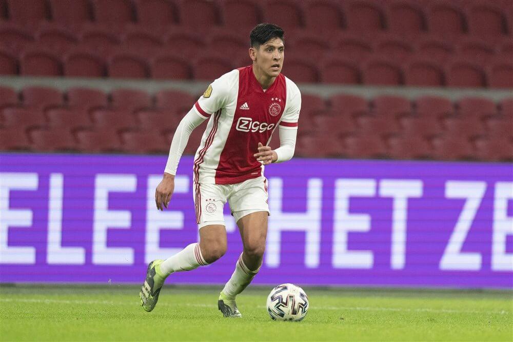 """Transfer Edson Álvarez onbespreekbaar voor Ajax""; image source: Pro Shots"
