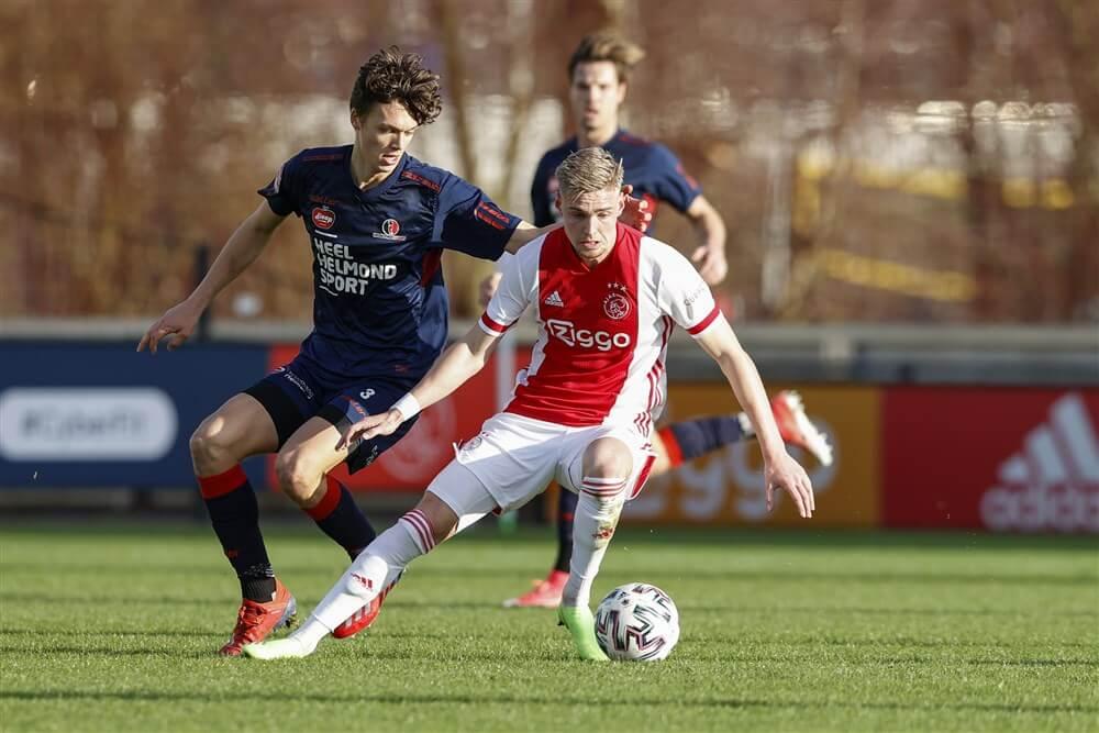 Jong Ajax wint ook niet van Helmond Sport; image source: Pro Shots