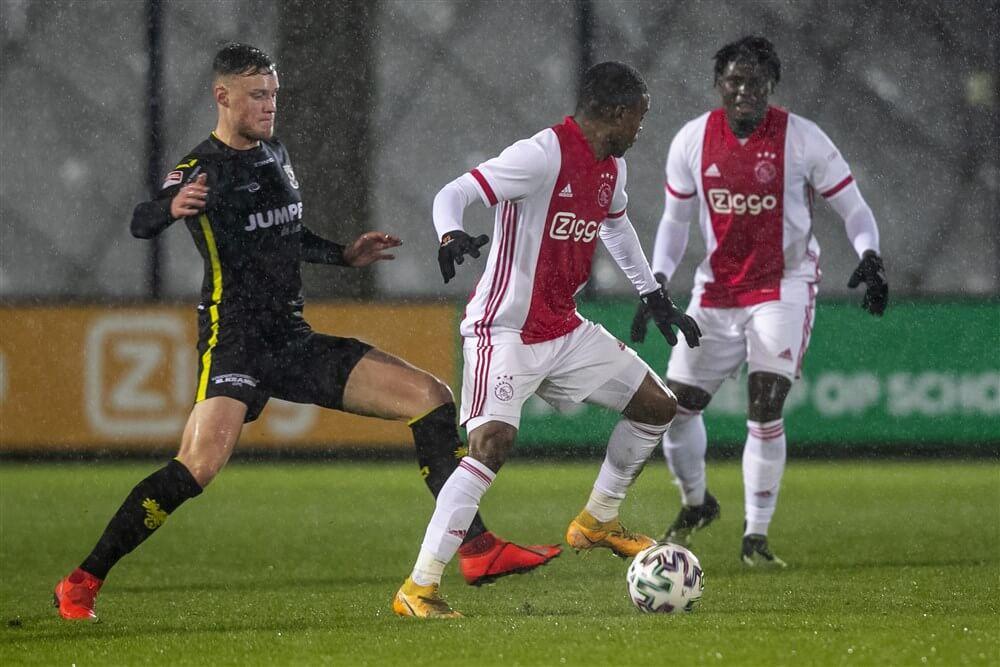 Jong Ajax in blessuretijd onderuit tegen Go Ahead; image source: Pro Shots