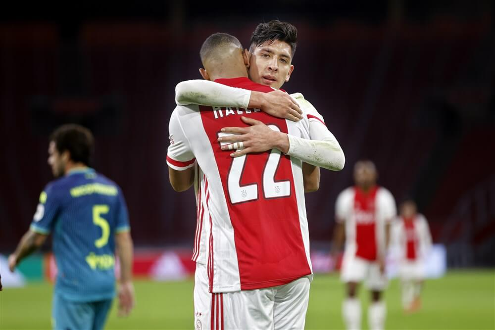 Ajax kent ook weinig problemen met Sparta en wint opnieuw; image source: Pro Shots