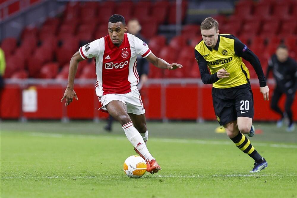 Ryan Gravenberch uitgeroepen tot Speler van de Maand in Eredivisie; image source: Pro Shots