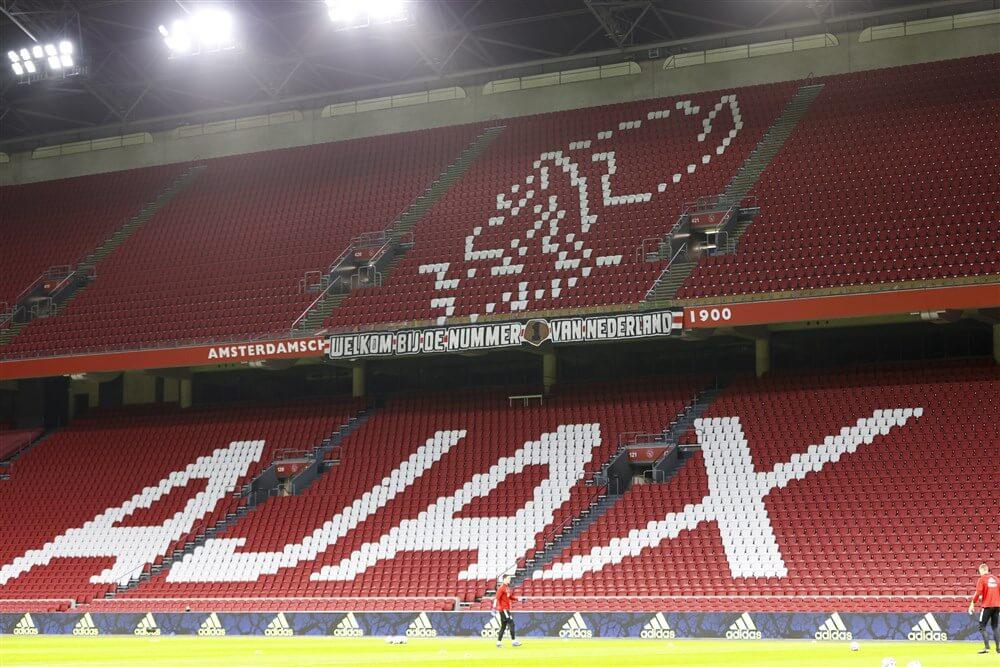 """Reactie Ajax: """"Verrast door de berichtgeving omtrent het spelen met publiek""""; image source: Pro Shots"""