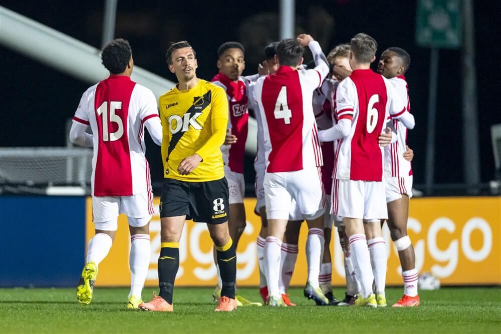 Jong Ajax in eigen huis gelijk tegen NAC Breda; image source: Pro Shots