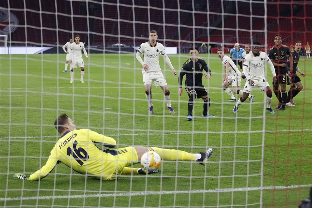 Beter Ajax laat op onnodige en knullige wijze zege aan AS Roma; image source: Pro Shots