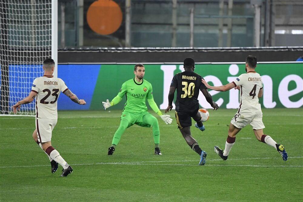 Beter Ajax zeer ongelukkig uitgeschakeld door AS Roma; image source: Pro Shots