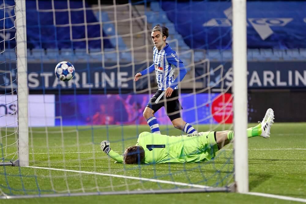 Ruime nederlaag voor Jong Ajax op bezoek bij FC Eindhoven; image source: Pro Shots