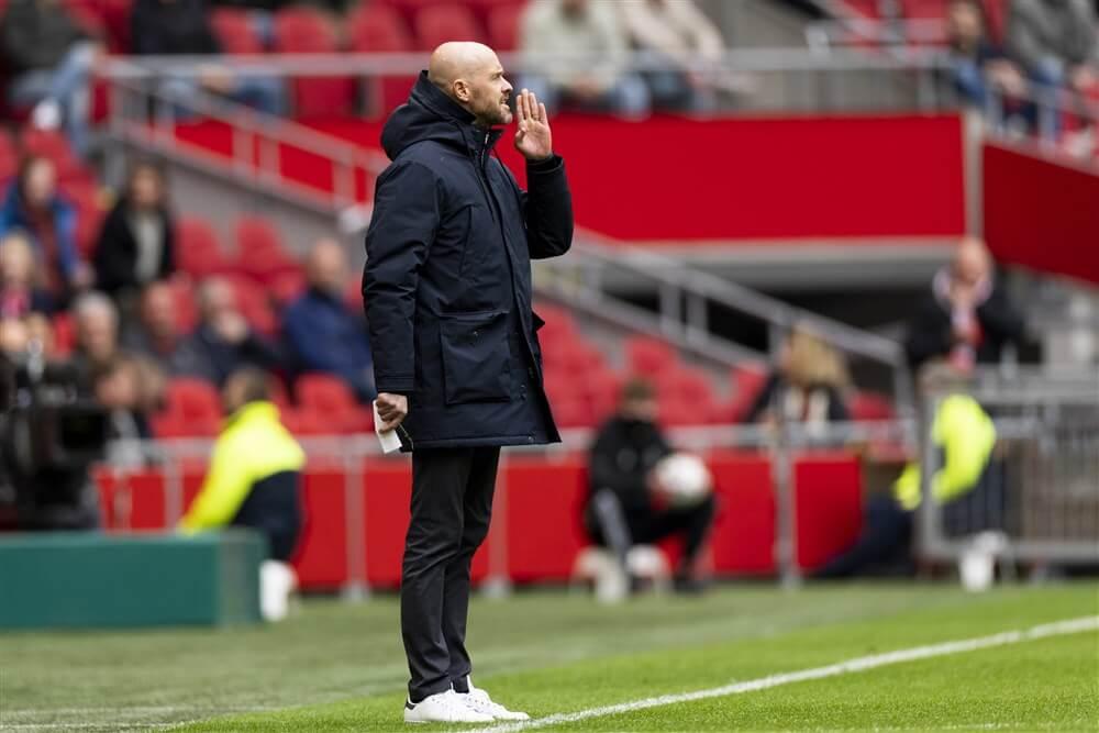 """Fabrizo Romano: """"Tottenham Hotspur deed een stap terug na gesprekken met Erik ten Hag""""; image source: Pro Shots"""