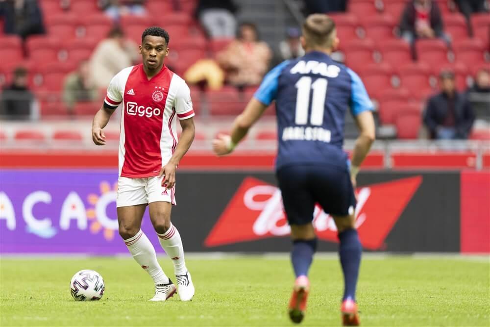 Jurriën Timber Talent van de Maand in Eredivisie; image source: Pro Shots