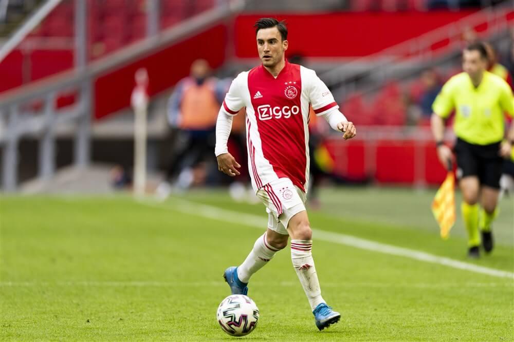 Nicolás Tagliafico geschorst tegen Feyenoord; image source: Pro Shots