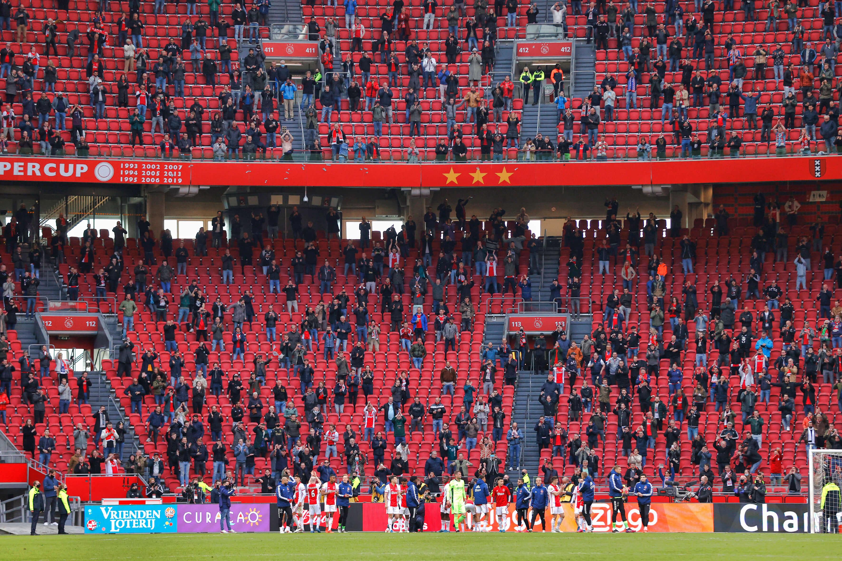 Twee derde van bezettingsgraad in stadions verlengd tot en met 1 september; image source: Pro Shots