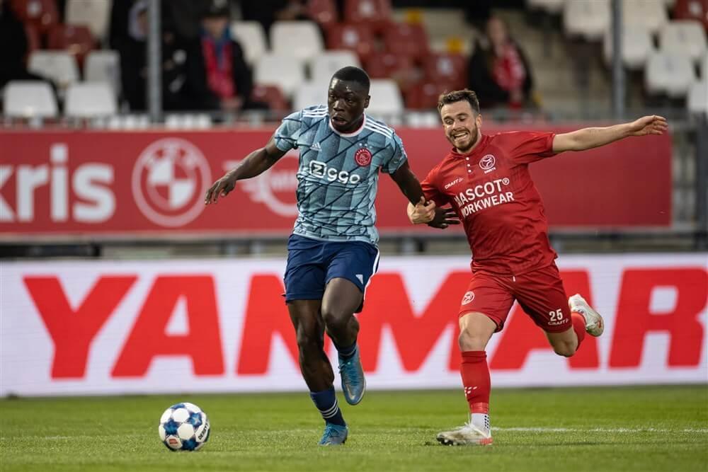 Zwakke reeks Jong Ajax houdt aan, ook Almere City is te sterk; image source: Pro Shots