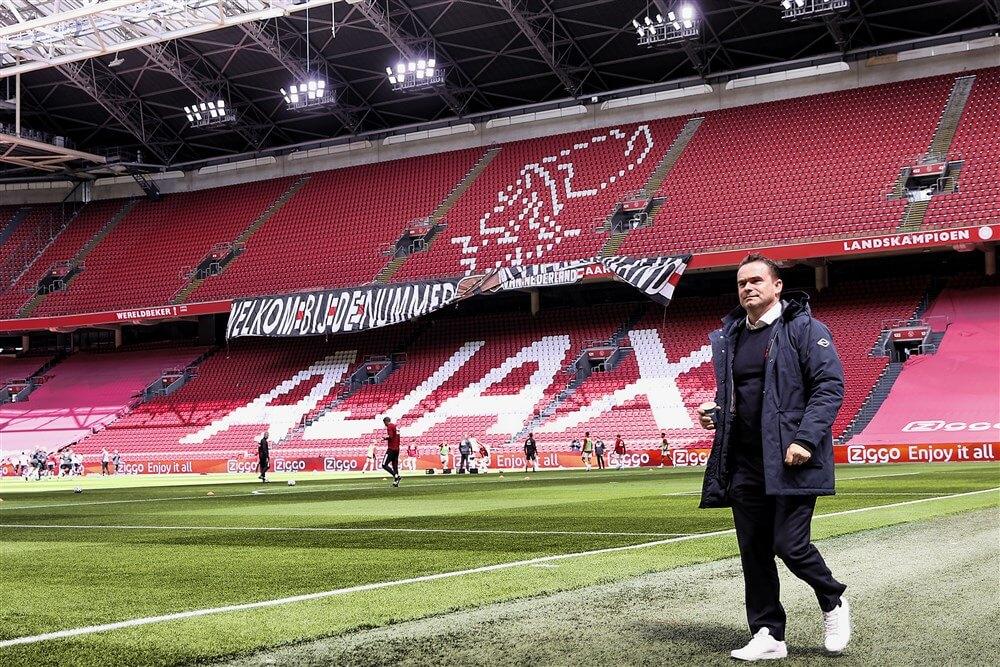 """""""Marc Overmars in Denemarken voor aanvaller Kamaldeen Sulemana""""; image source: Pro Shots"""