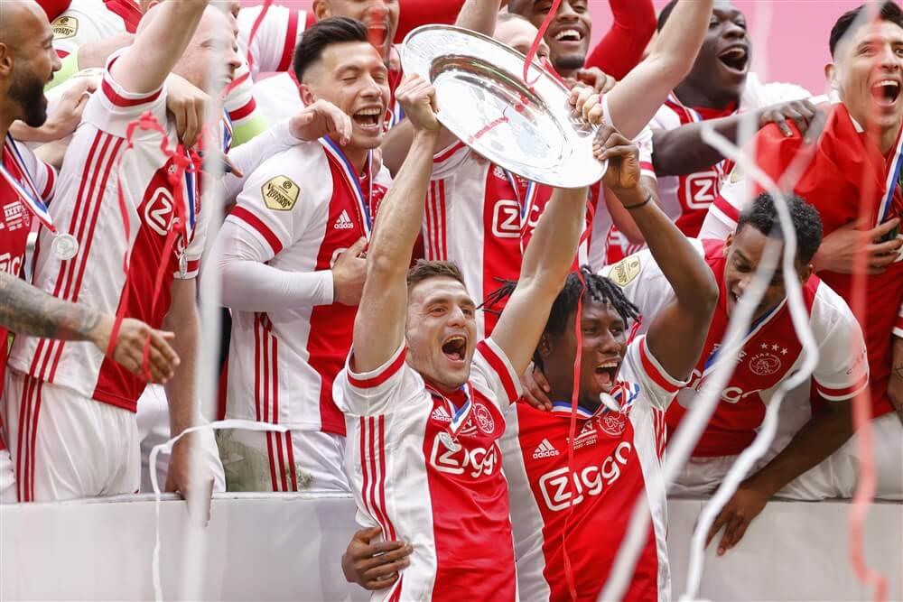 Ajax overtuigend naar 35ste landstitel uit clubhistorie; image source: Pro Shots