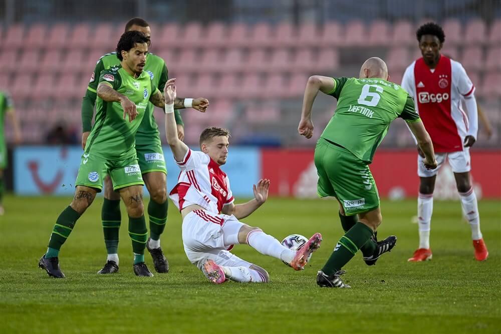 Jong Ajax knokt zich naar punt tegen De Graafschap; image source: Pro Shots