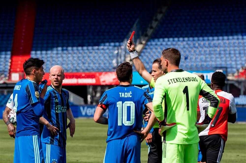 Edson Álvarez voor één wedstrijd geschorst; image source: Pro Shots