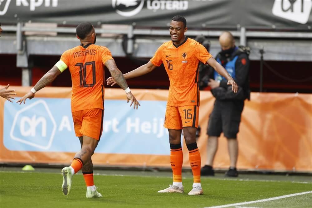 Ryan Gravenberch scoort tijdens oefenzege Oranje, speeltijd voor alle Ajacieden; image source: Pro Shots