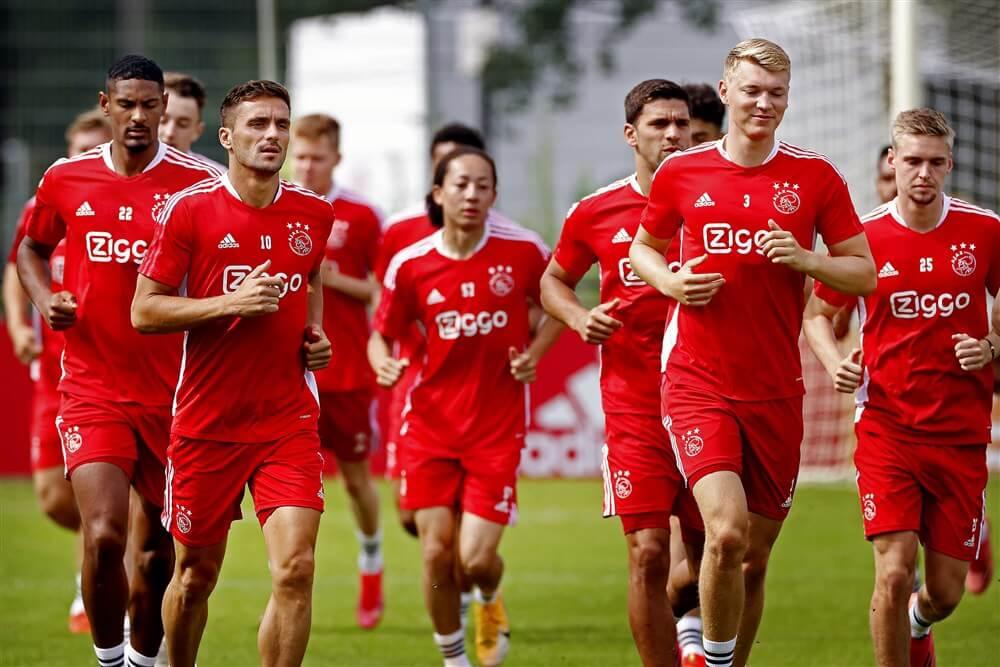 Ajax met 23 spelers op weg naar München en Oostenrijk; image source: Pro Shots