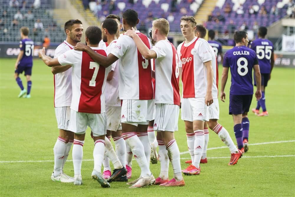Ajax ook te sterk voor Anderlecht in oefenduel; image source: Pro Shots