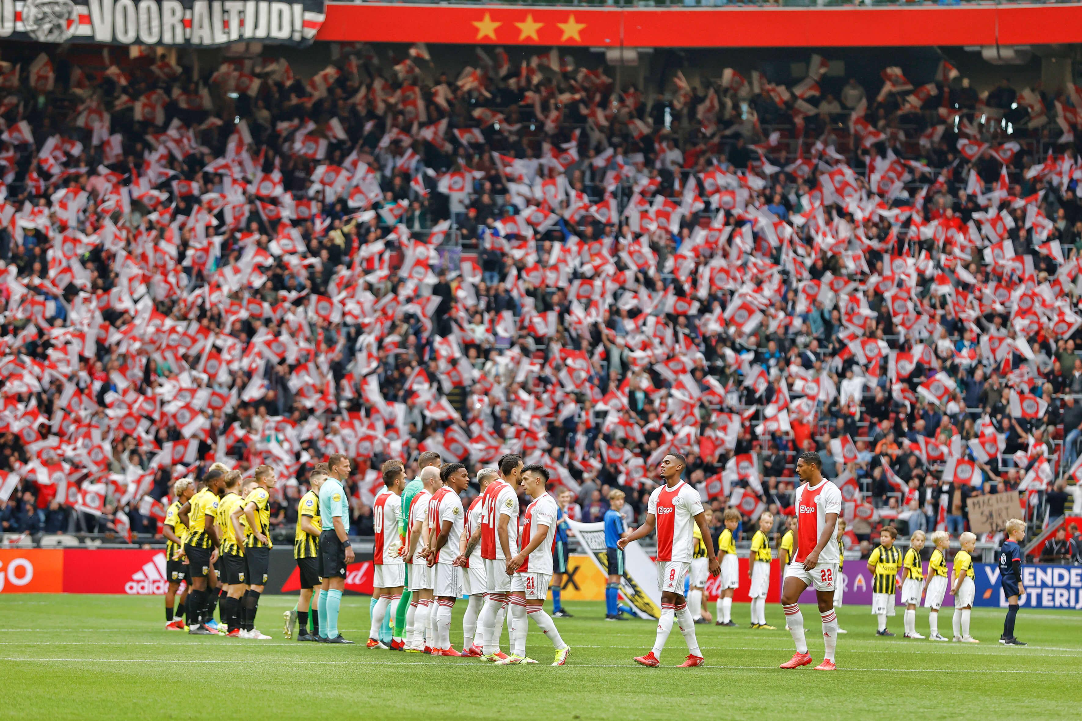Bevestiging kabinet: volle stadions vanaf 25 september; image source: Pro Shots