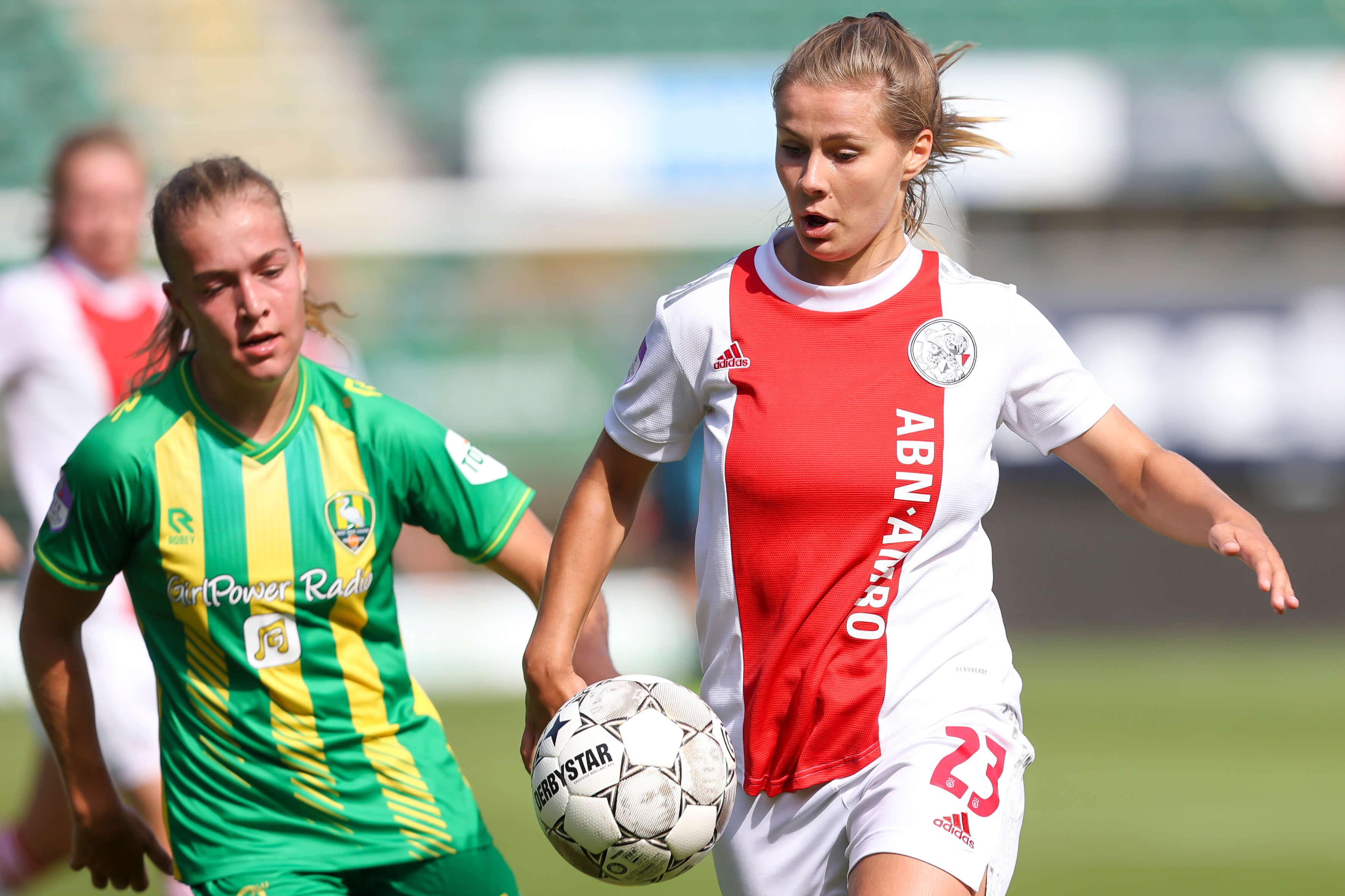 Doelpuntloos gelijkspel Ajax Vrouwen in Den Haag; image source: Pro Shots