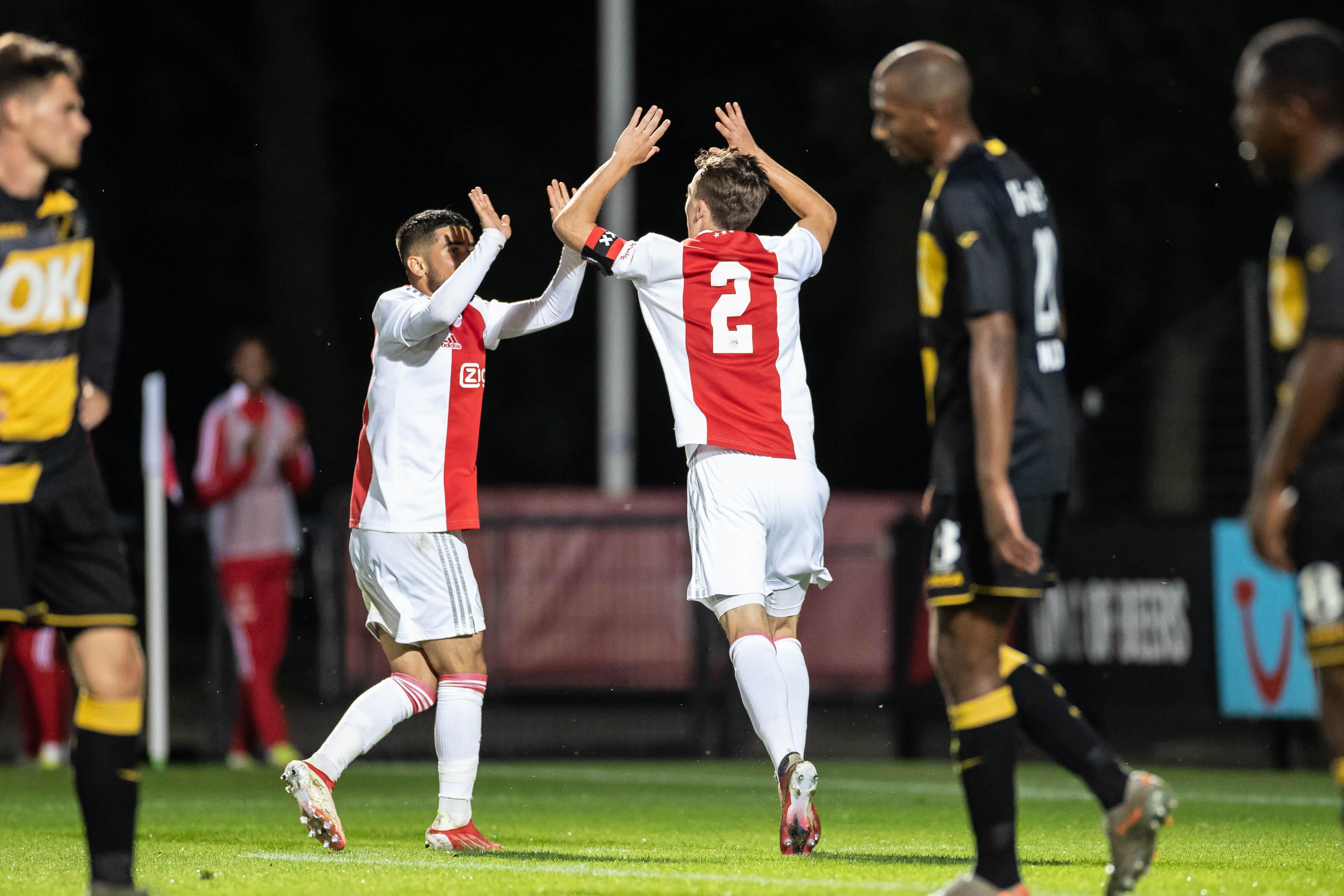 Aan doelpunten geen gebrek bij zege van Jong Ajax tegen NAC; image source: Pro Shots