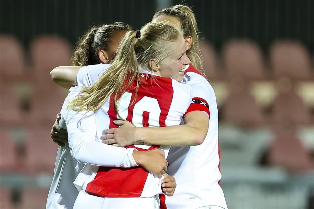 Ajax Vrouwen veel te sterk voor VV Alkmaar; image source: Pro Shots