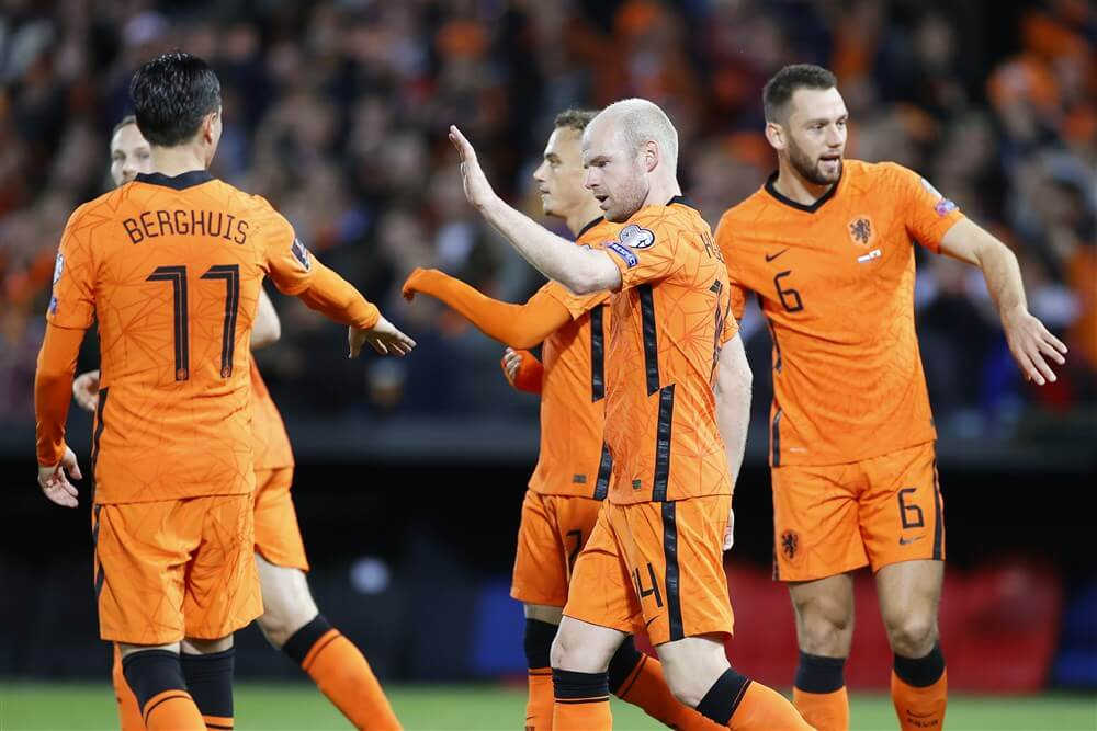 Nederland wint met ruime cijfers van Gibraltar; image source: Pro Shots
