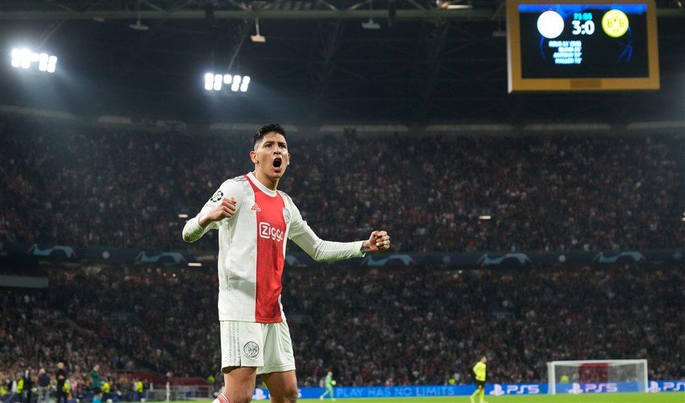 """""""Ajax en Edson Álvarez in gesprek over nieuw contract""""; image source: Pro Shots"""