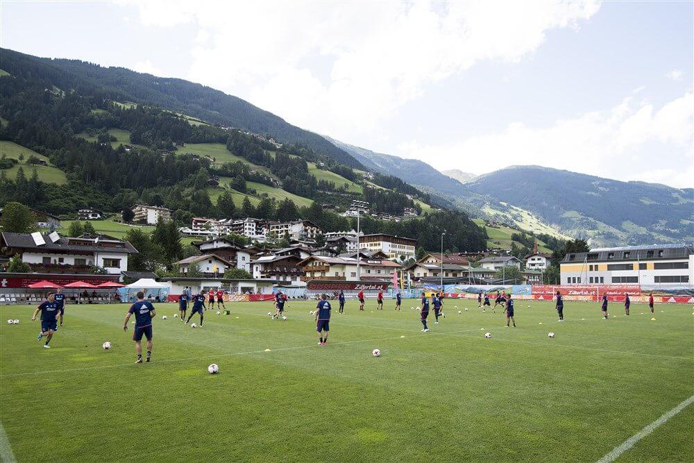 Ajax in voorbereiding op trainingskamp naar de Lutte en Oostenrijk; image source: Pro Shots