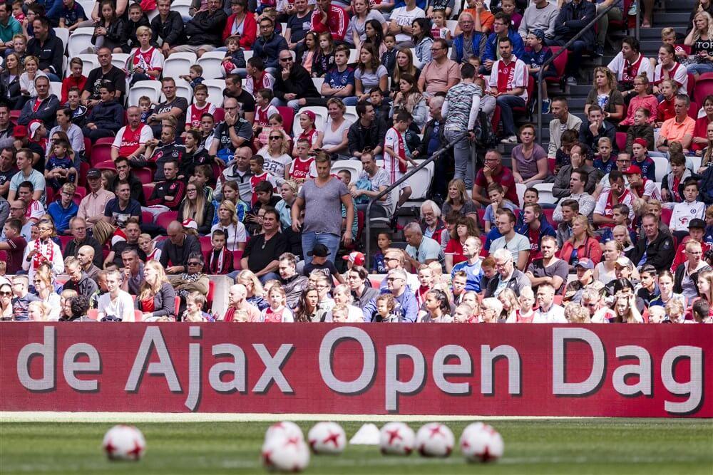 Ajax Open Dag afgelast vanwege voorspelde extreme hitte; image source: Pro Shots