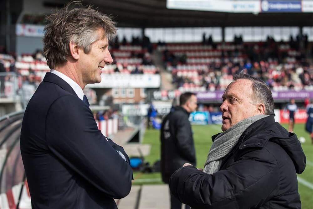 """Dick Advocaat: """"Misschien handig dat Ajax de andere clubs compenseert""""; image source: Pro Shots"""