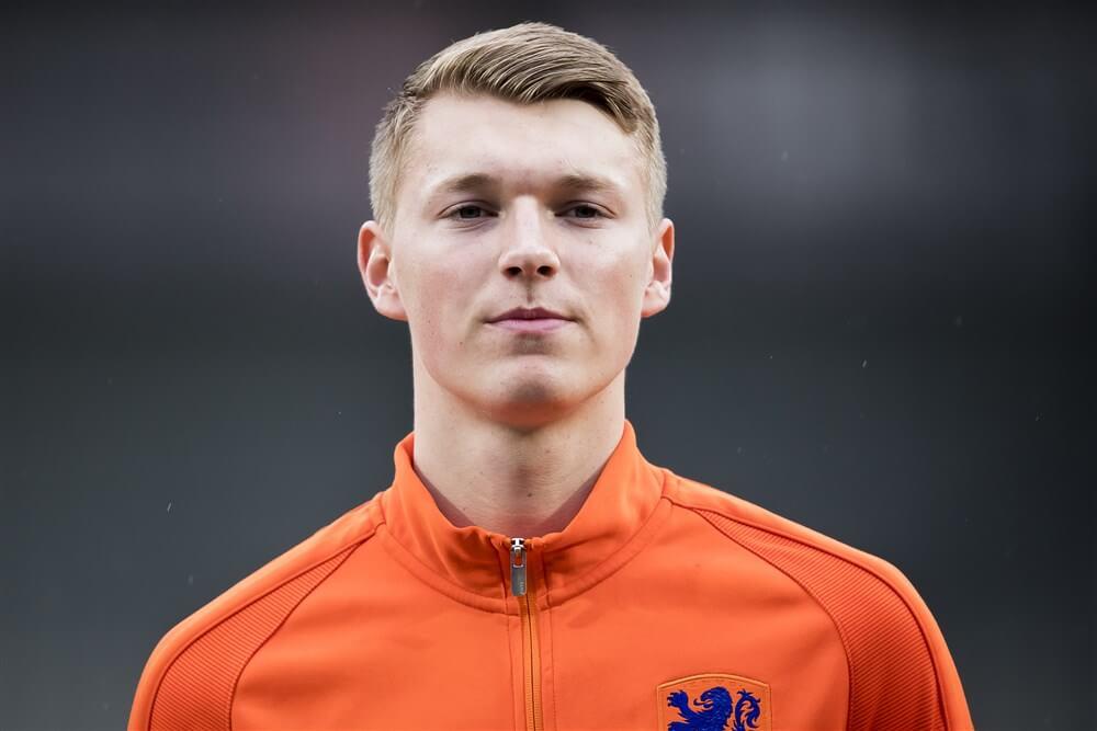 Ajax hofleverancier van selectie Jong Oranje; image source: Pro Shots