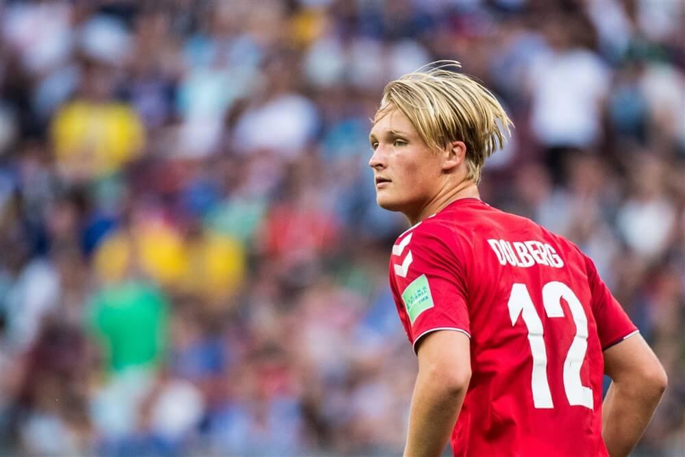 Denemarken dankzij scorende Kasper Dolberg veel te sterk voor Georgië; image source: Pro Shots
