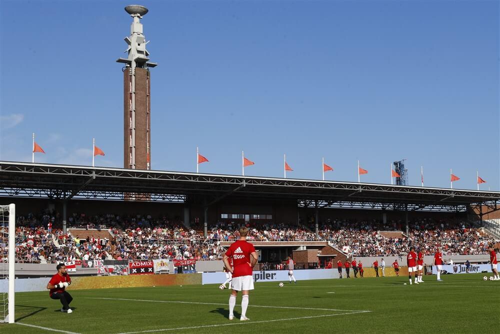 Ajax vriendschappelijk tegen Panathinaikos in Olympisch Stadion; image source: Pro Shots