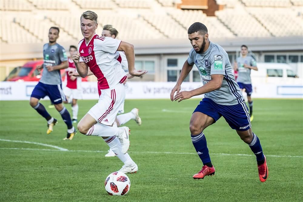 Ajax in voorbereiding wederom tegen Anderlecht; image source: Pro Shots