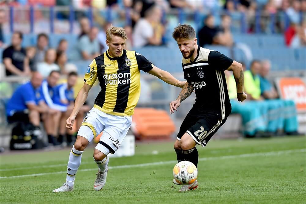 """Martin Ødegaard: """"Ajax is een mooie club, maar ik wil niet verder speculeren""""; image source: Pro Shots"""