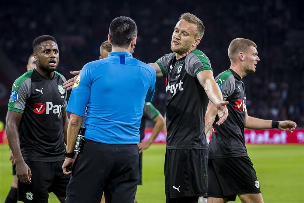 """FC Groningen: """"Zeer ongelukkig met verplaatsen van wedstrijd tegen Ajax""""; image source: Pro Shots"""