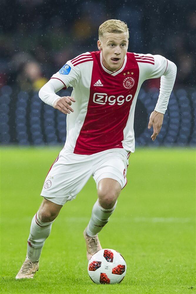 Donny van de Beek; image source: Pro Shots