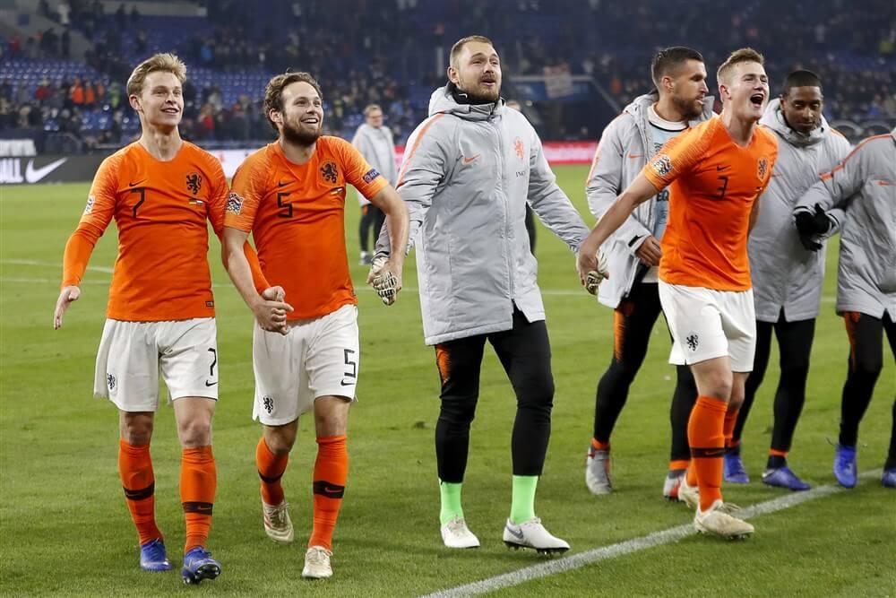 Ajax met vier spelers in definitieve selectie Oranje; image source: Pro Shots