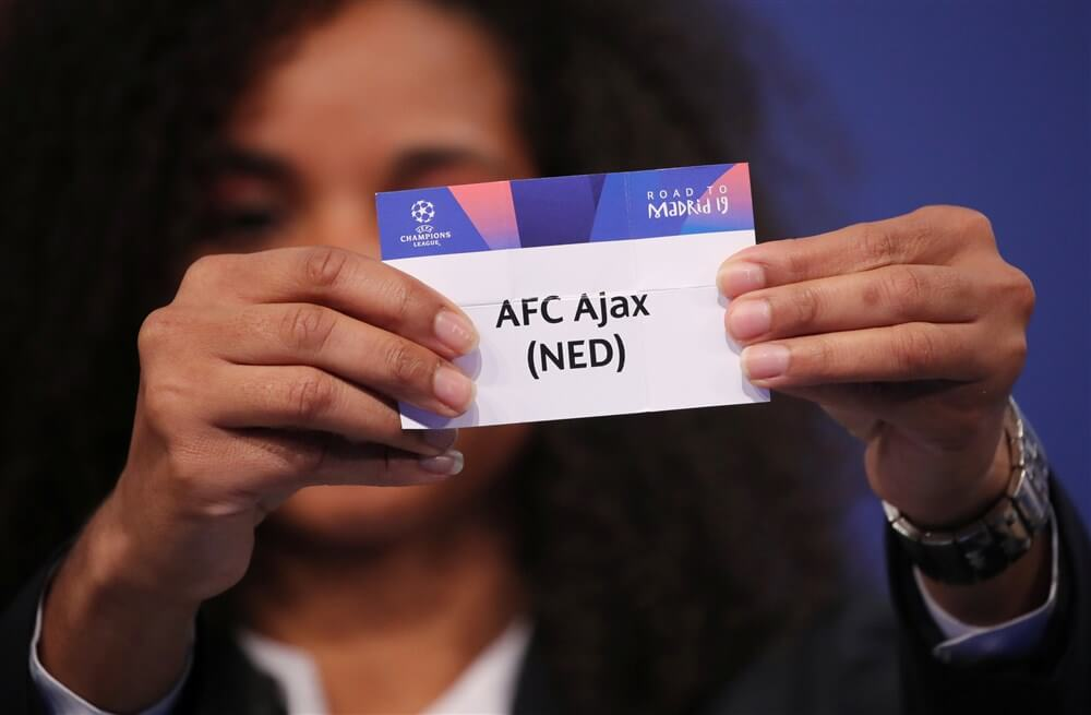 Ajax donderdagavond in pot 2 bij loting groepsfase Champions League; image source: Pro Shots