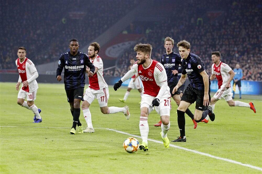 Thuiswedstrijd tegen sc Heerenveen vervroegd vanwege Champions League; image source: Pro Shots