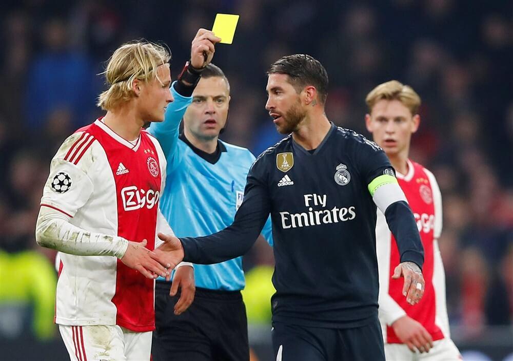 """Sergio Ramos: """"De gele kaart tegen Ajax was zeker een fout""""; image source: Pro Shots"""