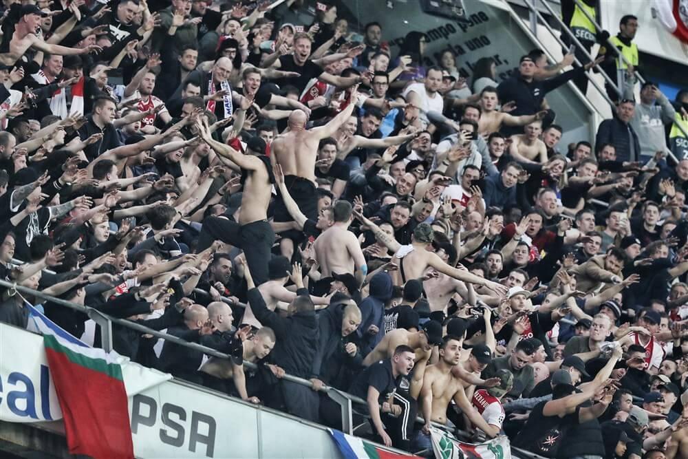 UEFA start nieuw onderzoek naar supporters Ajax; image source: Pro Shots