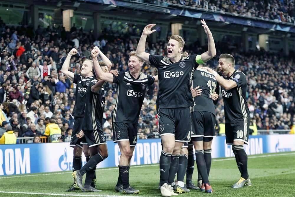 """Willem van Hanegem: """"Ik hoop dat Ajax tegenover een Engelse ploeg staat""""; image source: Pro Shots"""