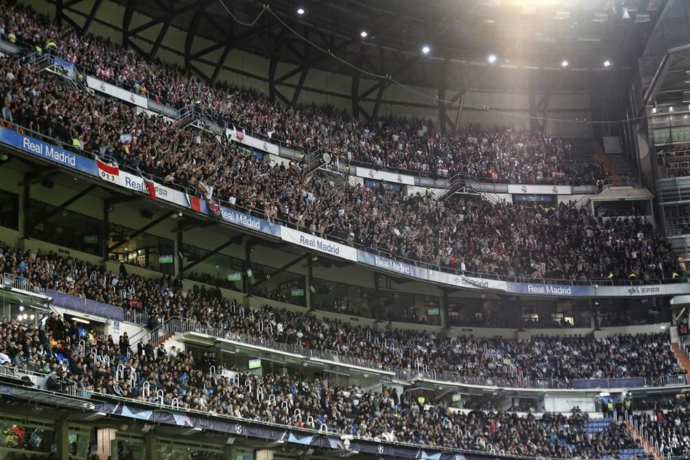 """UEFA staat weer uitsupporters toe in groepsfase""; image source: Pro Shots"