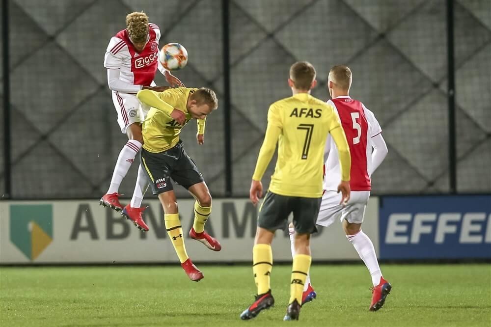 Jong Ajax in eigen huis niet voorbij Jong AZ, blessure Dani de Wit; image source: Pro Shots