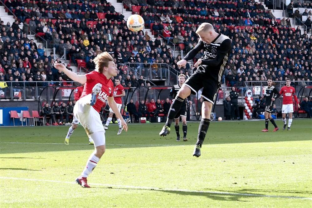 Nog onduidelijk waar AZ - Ajax wordt gespeeld in december; image source: Pro Shots