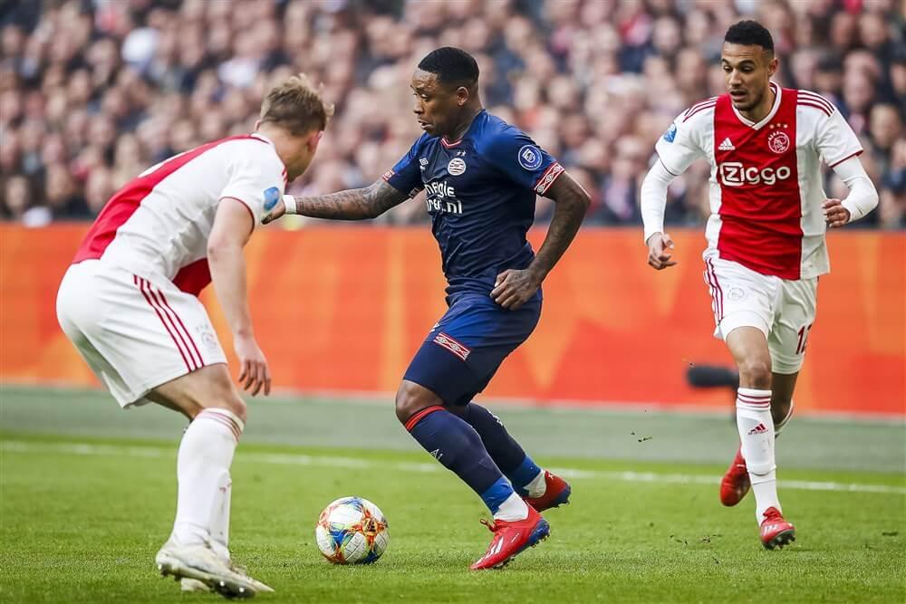 """Steven Bergwijn: """"Natuurlijk streelt de interesse van Ajax mij, daarover ga ik niet liegen""""; image source: Pro Shots"""