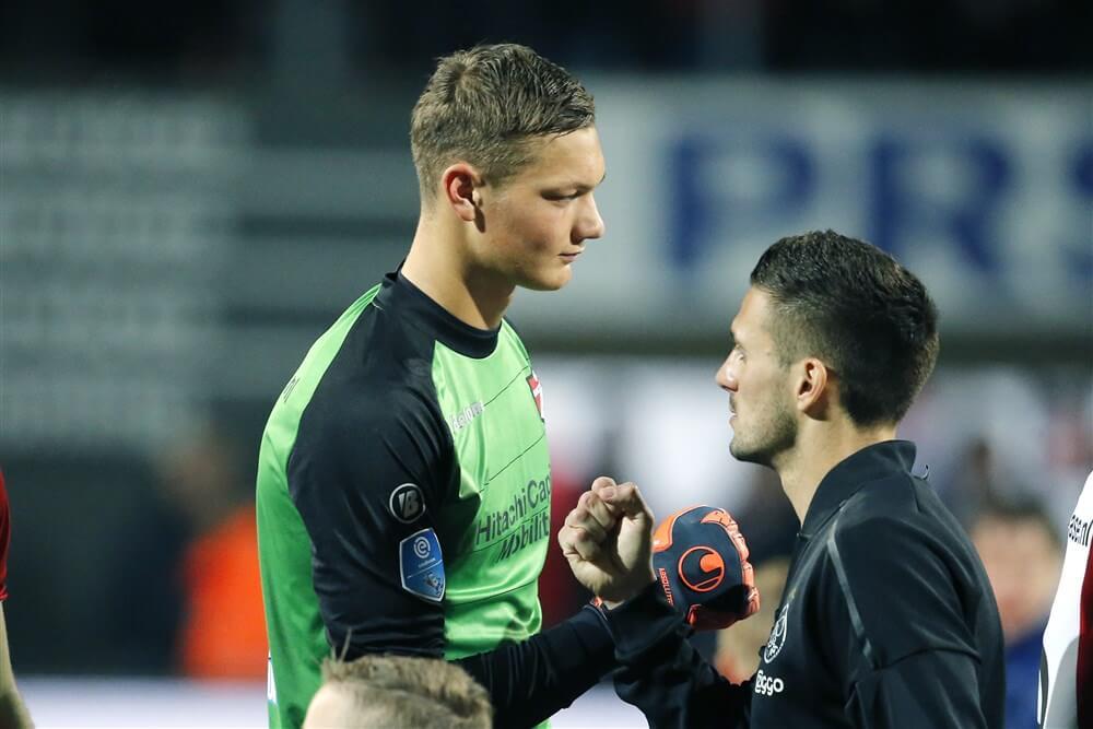 """Kjell Scherpen: """"Bij Ajax, de beste club van Nederland, kan ik me goed ontwikkelen""""; image source: Pro Shots"""